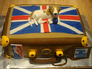 30th Birthday Suitcase Cake