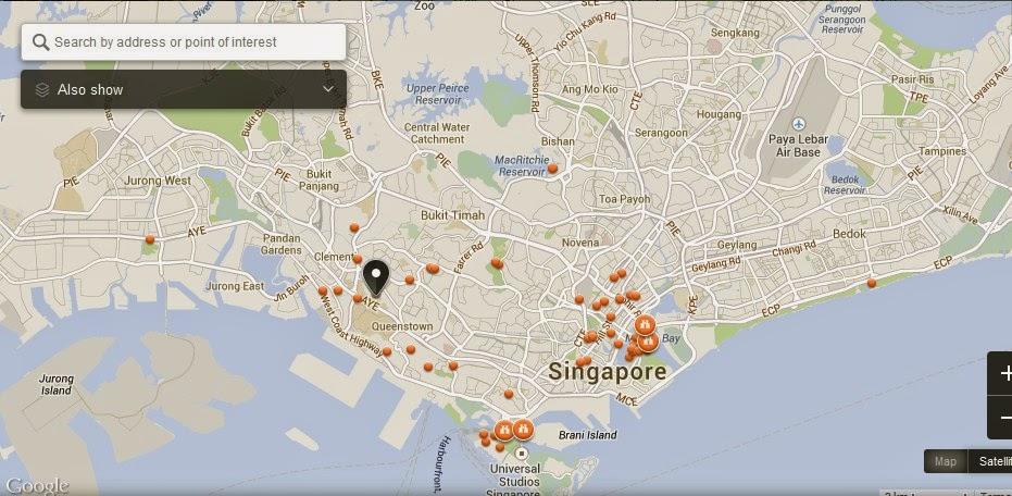Holland Village Singapore Map,Tourist Attractions in Singapore,Holland Village Singapore accommodation destinations hotels map reviews photos pictures