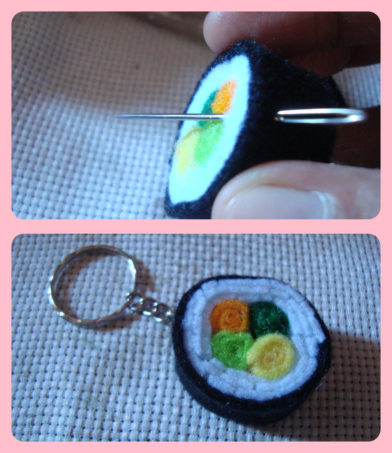 Tutorial Sushi Flanel