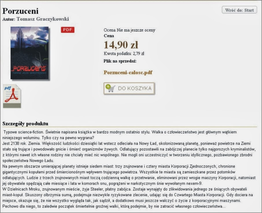 PORZUCENI e-book_Księgarnia internetowa: