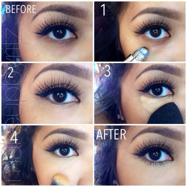 How To Hide Under Eye Dark Circles With Makeup B G Fashion