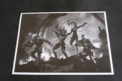 Contraportada del manual de montaje de las miniaturas de la caja: Assassinorum: Execution Force