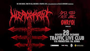 LIVE REPORT - HIEROPHANT/ONRYO
