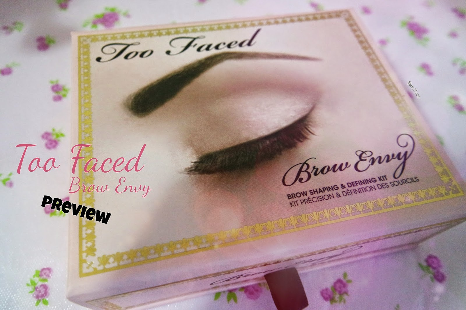 Daiisoo Too Faced Brow Envy Kit Preview
