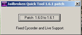 Jailbroken Quick Tool patch 1.6.1