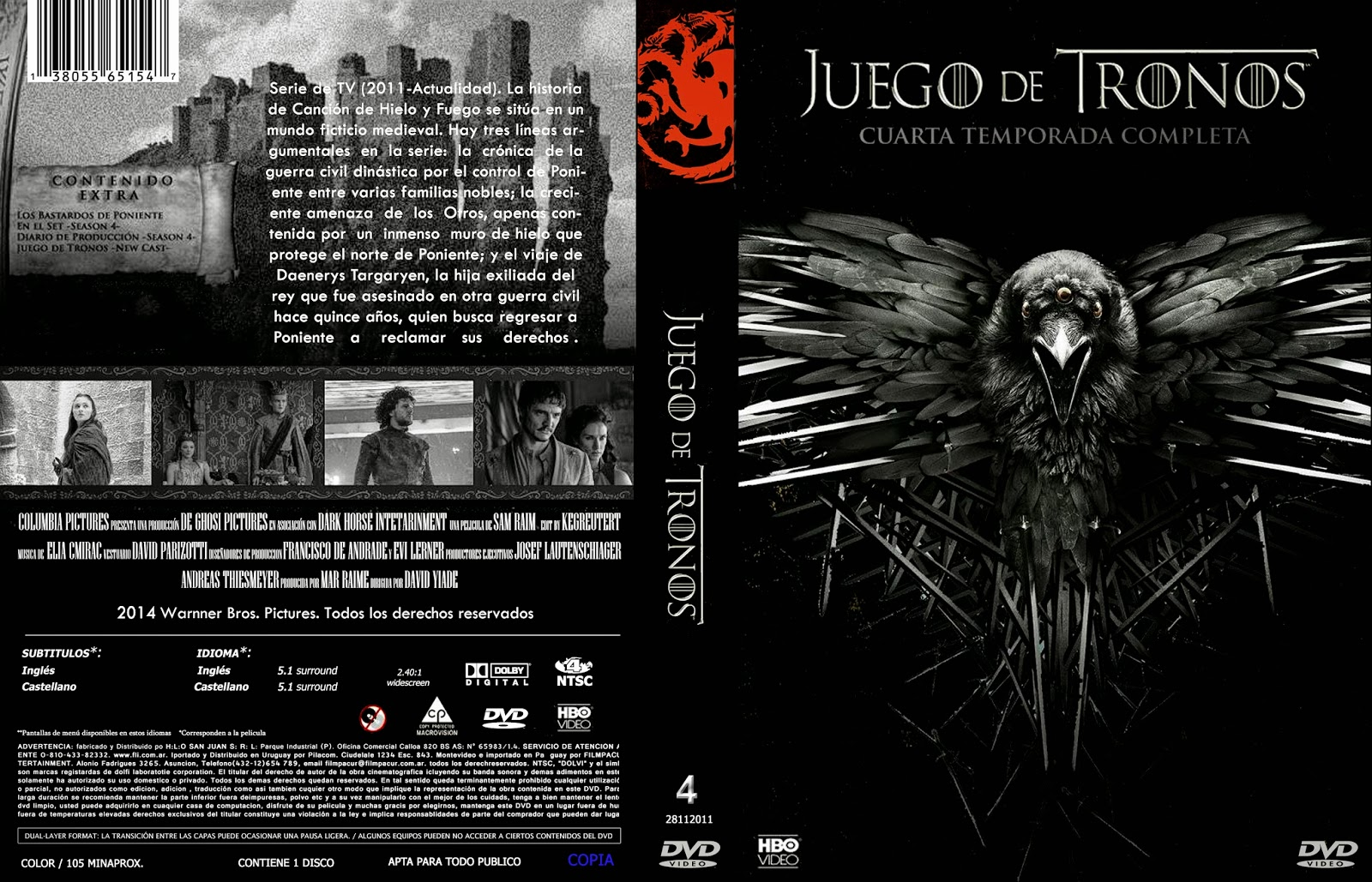 COVERCARATULAS DE DVD - CD COVERCREATORS: JUEGO DE TRONOS \