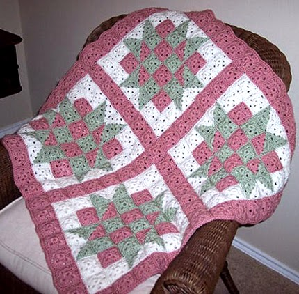 Baby Blocks Crochet Quilt - Free Pattern