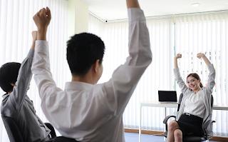 Ginástica laboral melhora desempenho na hora do trabalho