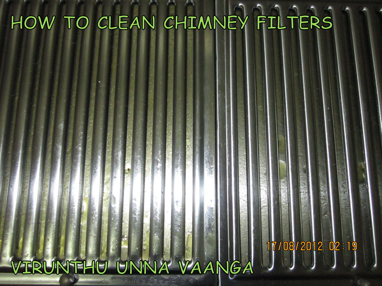 delightful How To Clean Kitchen Chimney Grease #1: Take the baffle filters from the chimney.