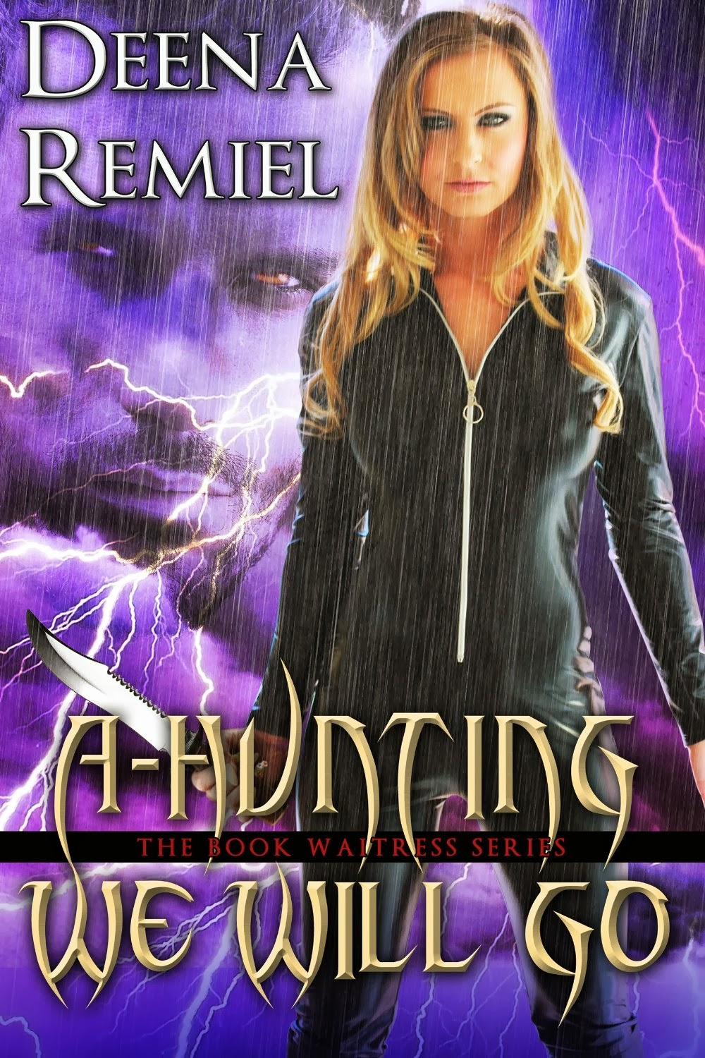 A-Hunting We Will Go (Book 4, Book Waitress Series) by Deena Remiel