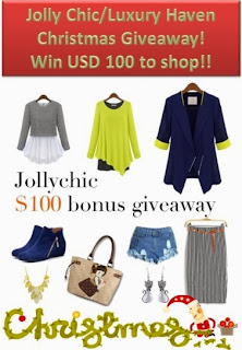 Win JollyChic $100 Shopping Spree At Luxury Haven!