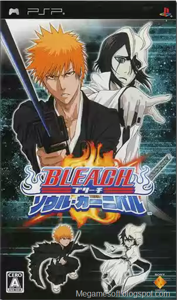 PSP Roms - Bleach Soul Carnival (Japan)