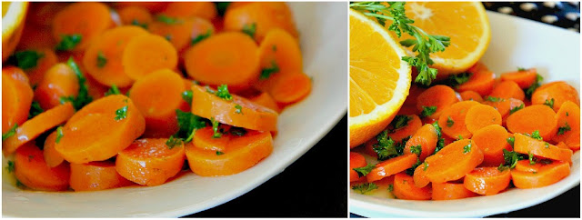 Glazed carrots with honey