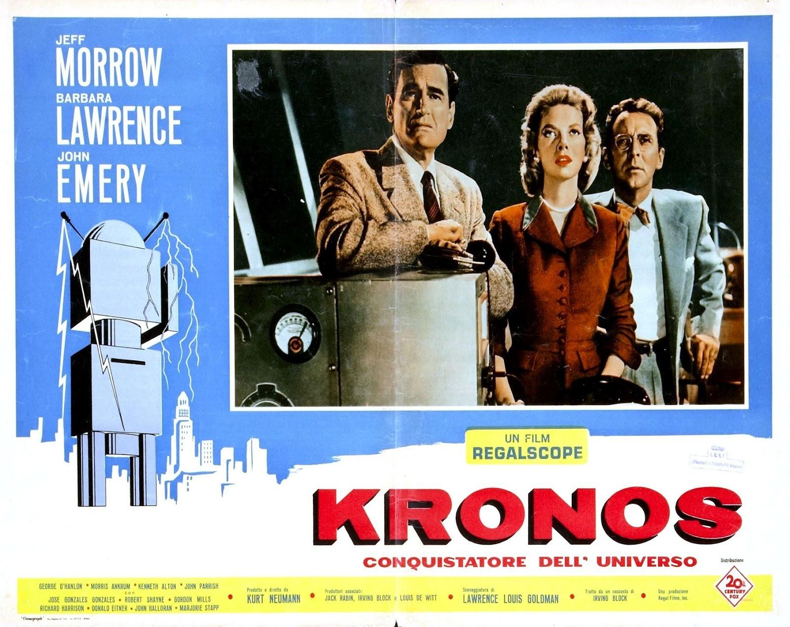 zontar of venus  kronos  1957