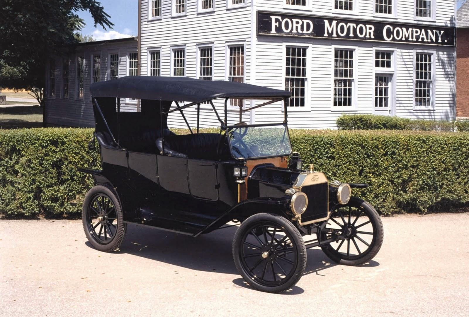 Diecast 1 18 Ford Model T 1915 Par Motor City Classic