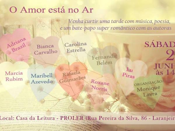 Evento O Amor Está no Ar no Rio de Janeiro