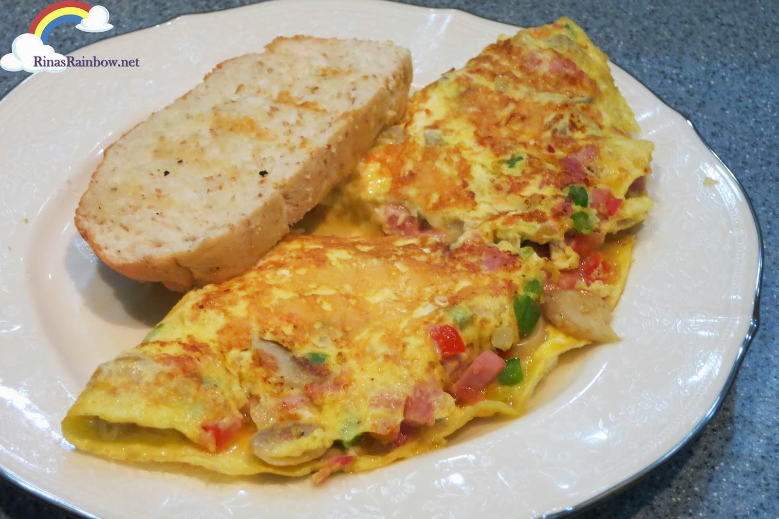 american omelette