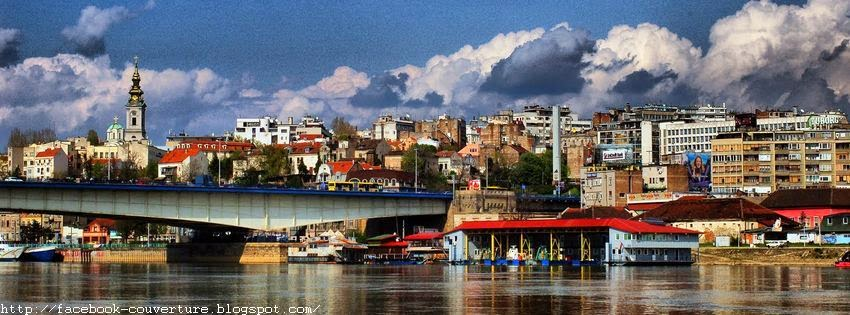 Couverture facebook Belgrade Serbie