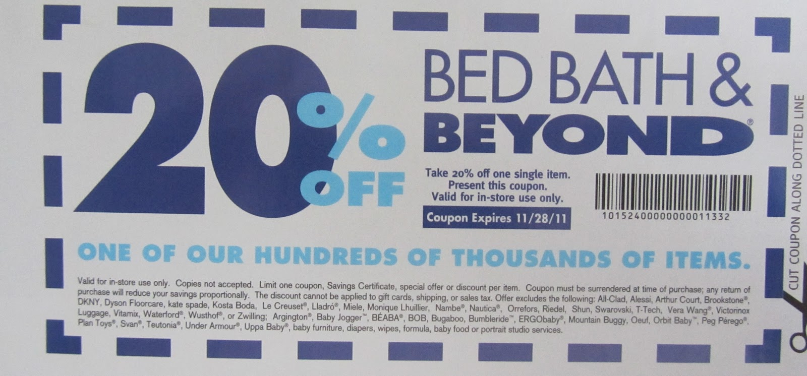 Does Bed Bath Beyond Take Expired Coupons