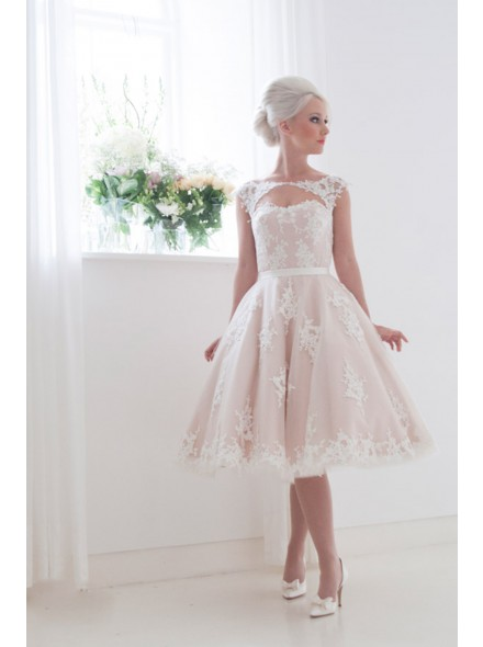 Midi wedding dress