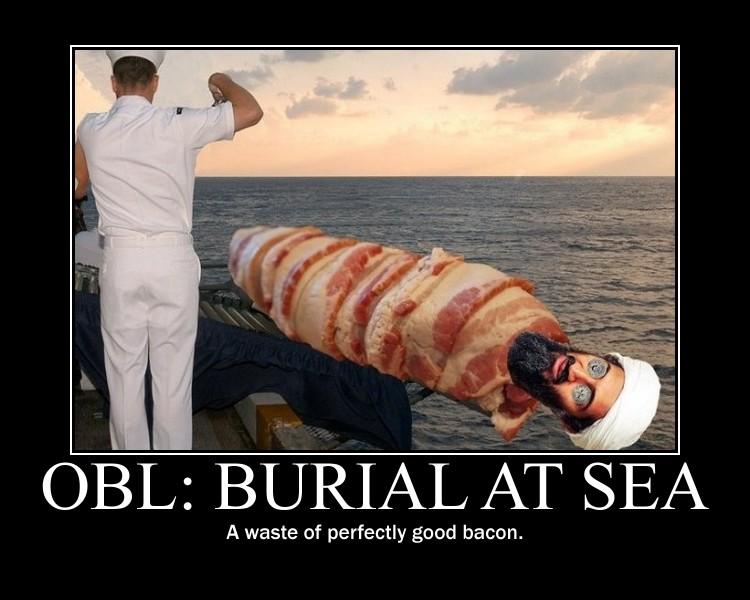 osama in laden burial at sea. OSAMA BIN LADEN