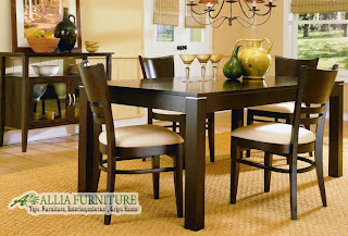 Meja makan bundar ( bulat ), model yang menawan bila berdiri pada ...