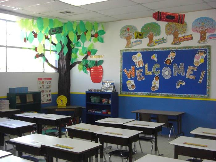 Como decorar salon de clases preescolar imagui for Ideas para decorar puertas de salon