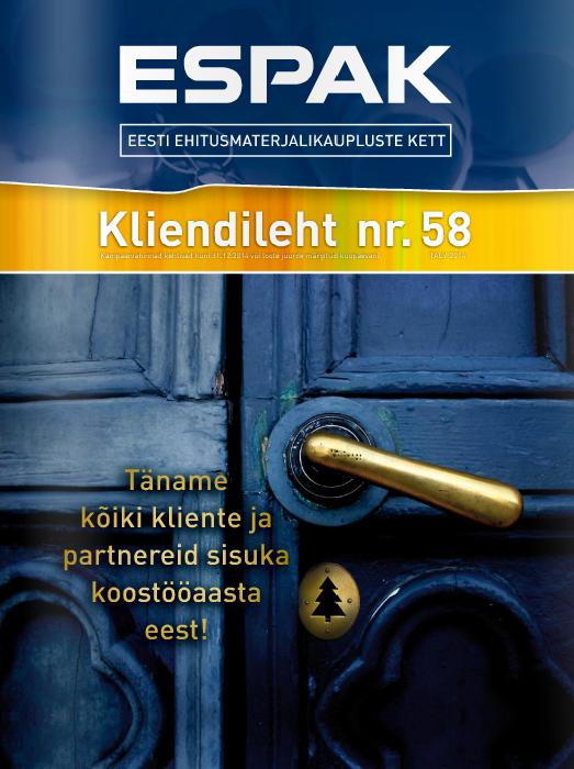 Espak, tarjoukset, remonttitarvikkeet, remontti, Tallinna, Tallinna päiväristeily