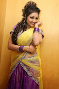 Priyanka half saree photos-thumbnail-19