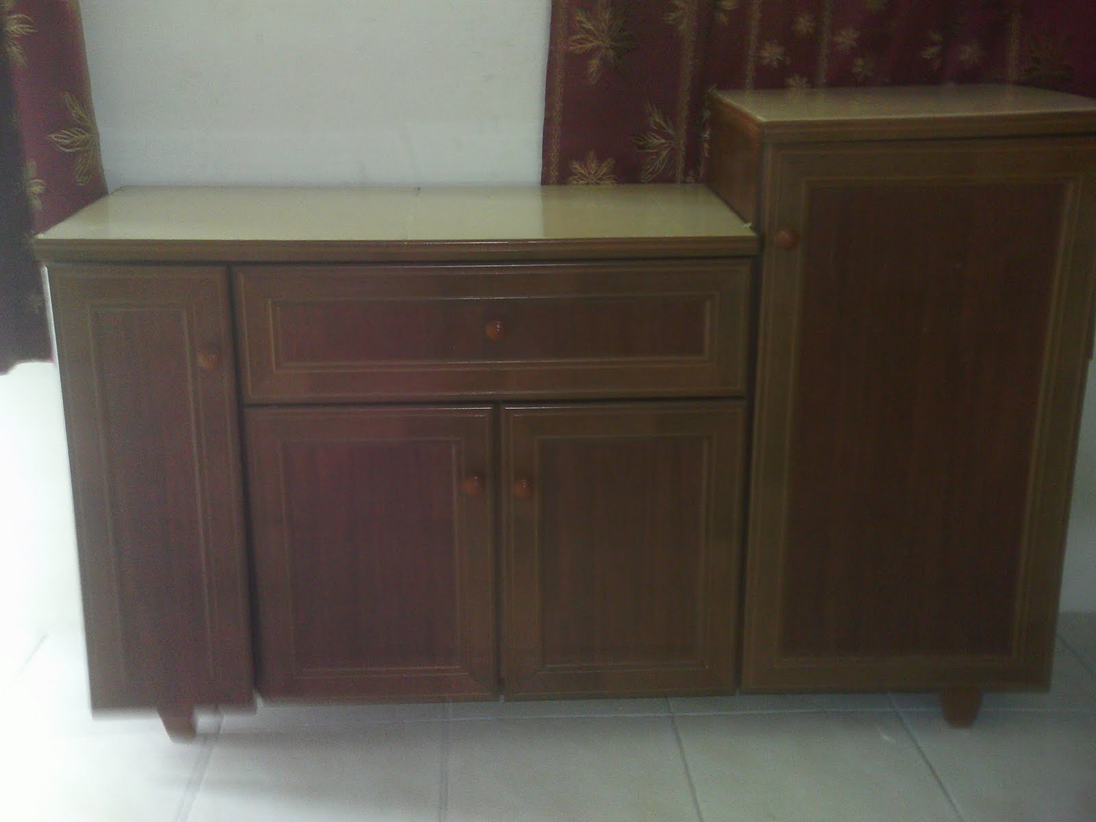 Cabinets & Gas Stove