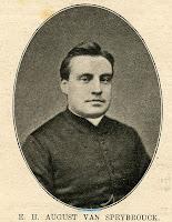 E.H. August Van Speybrouck (°1843)