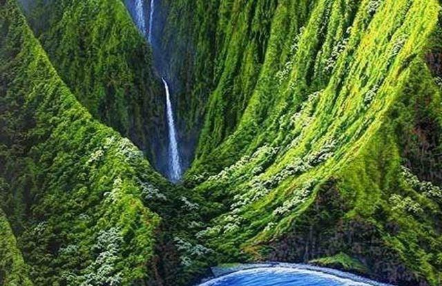 Air Terjun Puukaoku Falls
