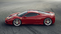 Ferrari 458 Speciale V8 side
