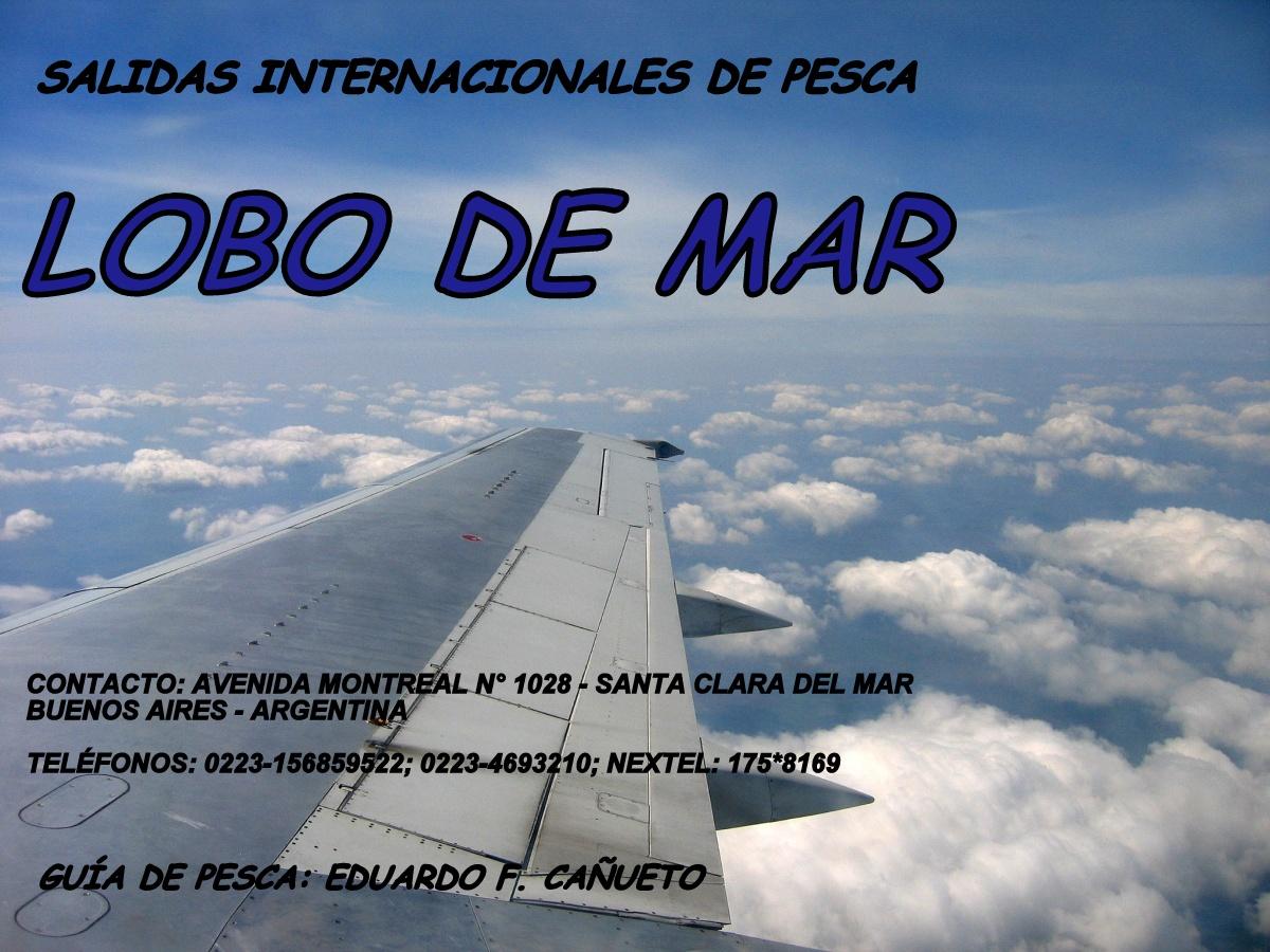 SALIDAS INTERNACIONALES DE PESCA