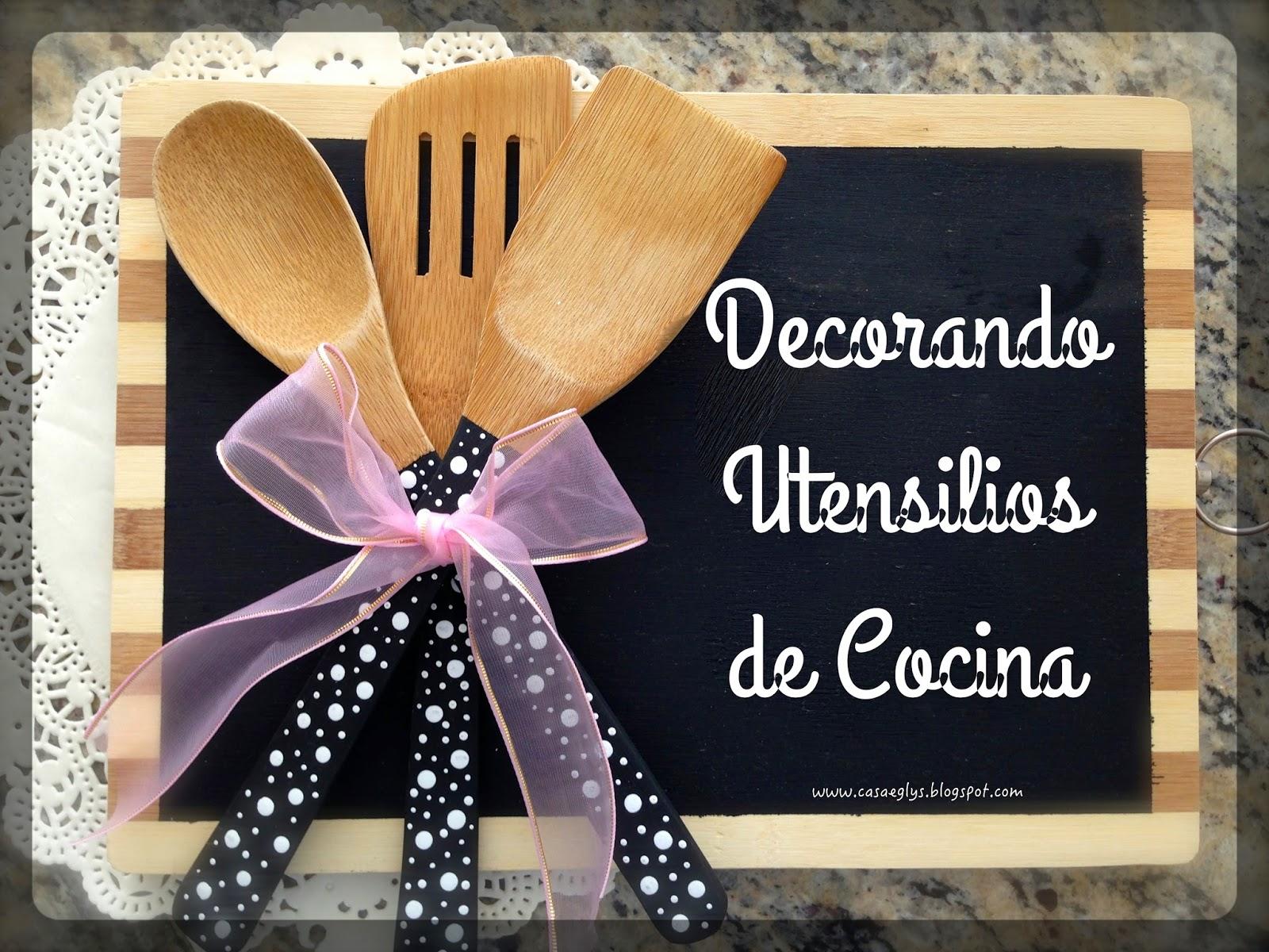 Casa eglys diy decorando utensilios de cocina for Utensilios de cocina para zurdos