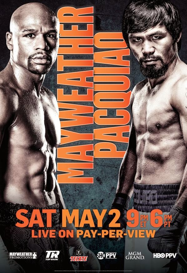 Manny Pacquiao vs Floyd Mayweather Fight Official Poster Released
