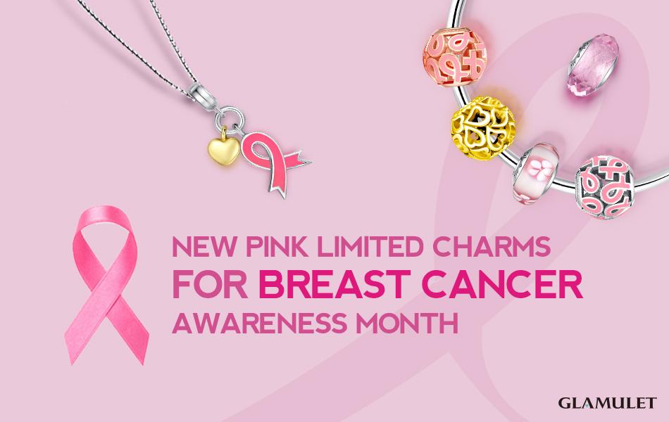#glamuletpinkoctober per la lotta al tumore al seno