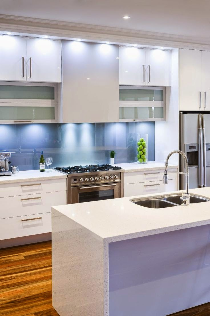 cool small white kitchen cabinets
