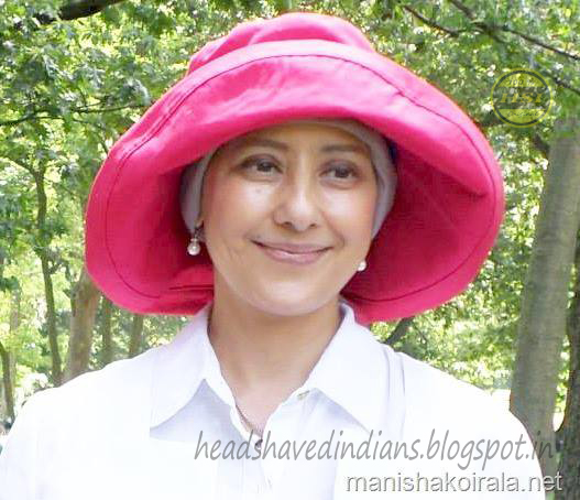 Bollywood Actress Manisha Koirala Goto Bald Head