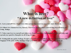 "What is Love? ""A New Definition of Love"""