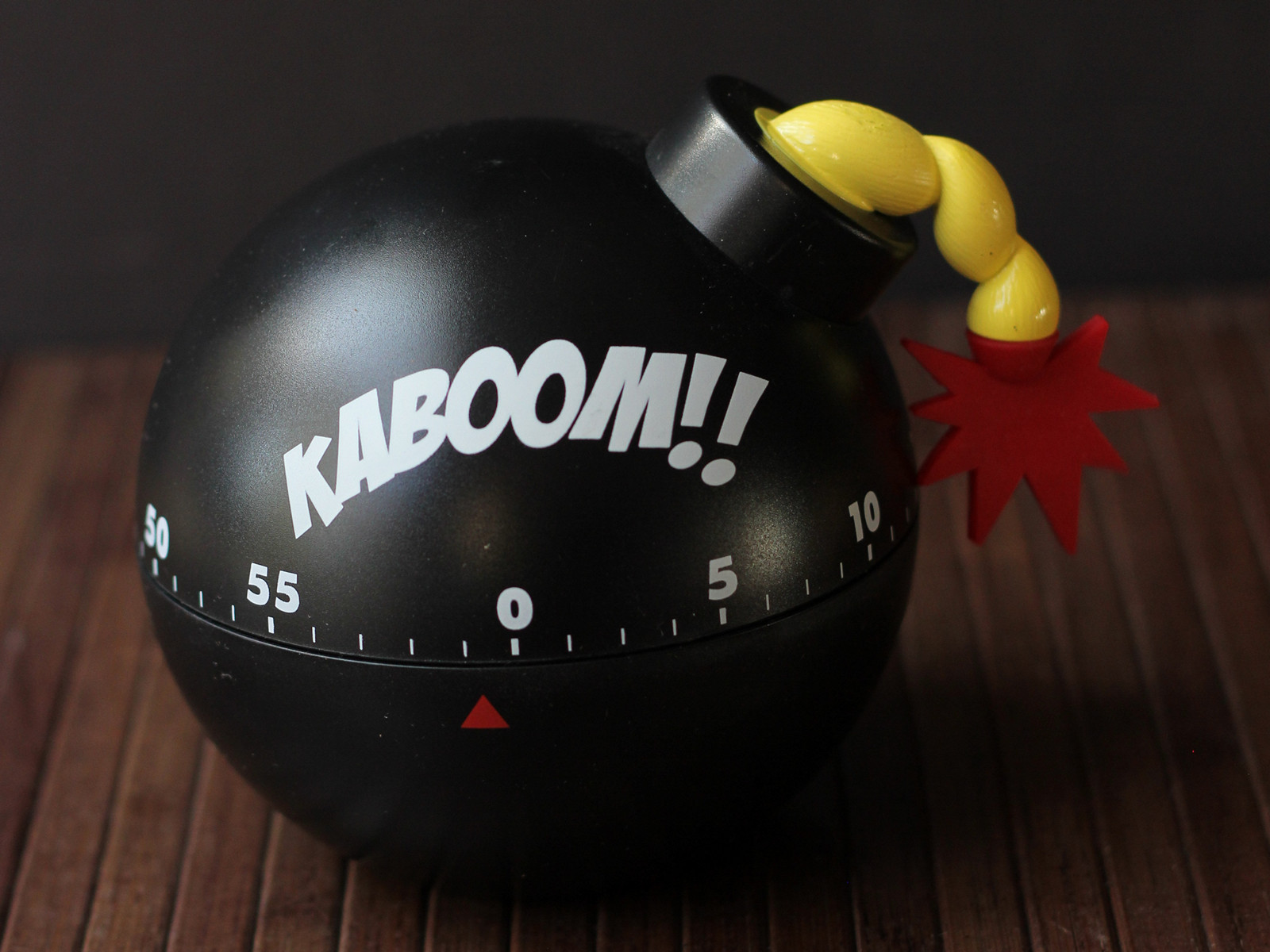 Cookistrys kitchen gadget and food reviews gift guide for bakers a fun and funny kitchen timer that would be a good stocking stuffer for the cook with a sense of humor the timer doesnt actually go boom when time is up publicscrutiny Choice Image
