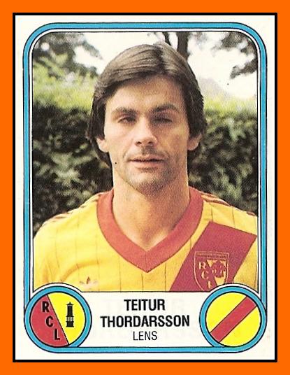 les albums Panini Teitur+THORDARSON+-+RC+Lens+1983
