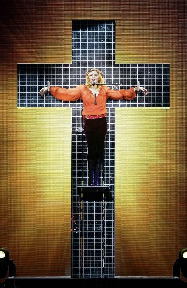 Мадонна: История в фотографиях
