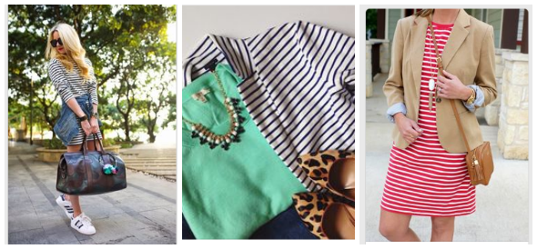 spring stripes inspiration | www.shealennon.com