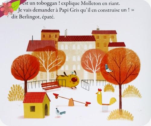 """""""Berlingot n'a peur de rien !"""" de Virginie Hanna et Amandine Piu - éditions Auzou"""