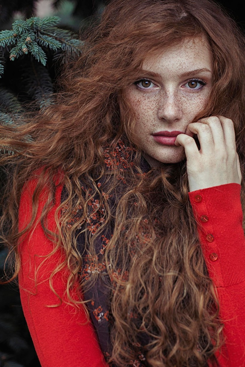 Stunning Portraits of Red-Haired Beauties, Personifying the Spirit of Summer