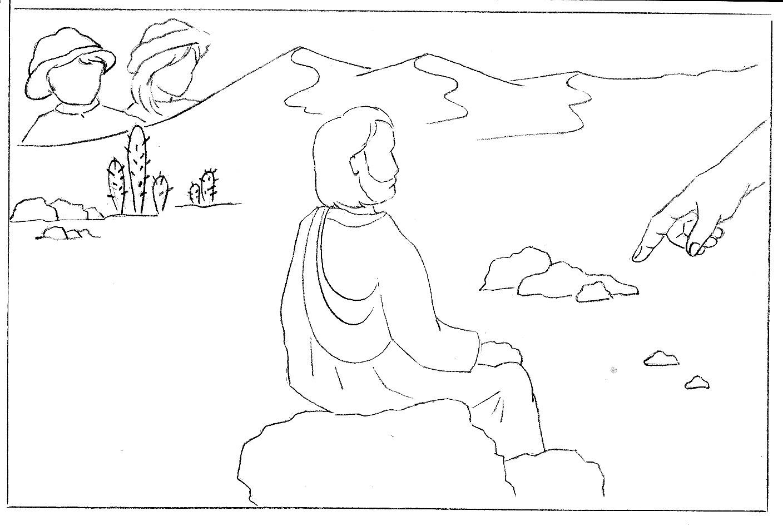 Le Trésor De P'tit Eloi: Quand Jésus Part Au Désert