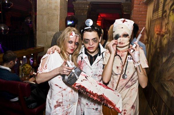 Костюмы для хэллоуина своими руками фото