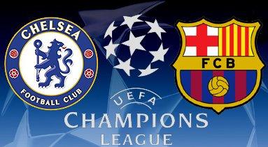 Chelsea vs Barcelona Leg 2 Semi Final Liga Champion 25 April 2012