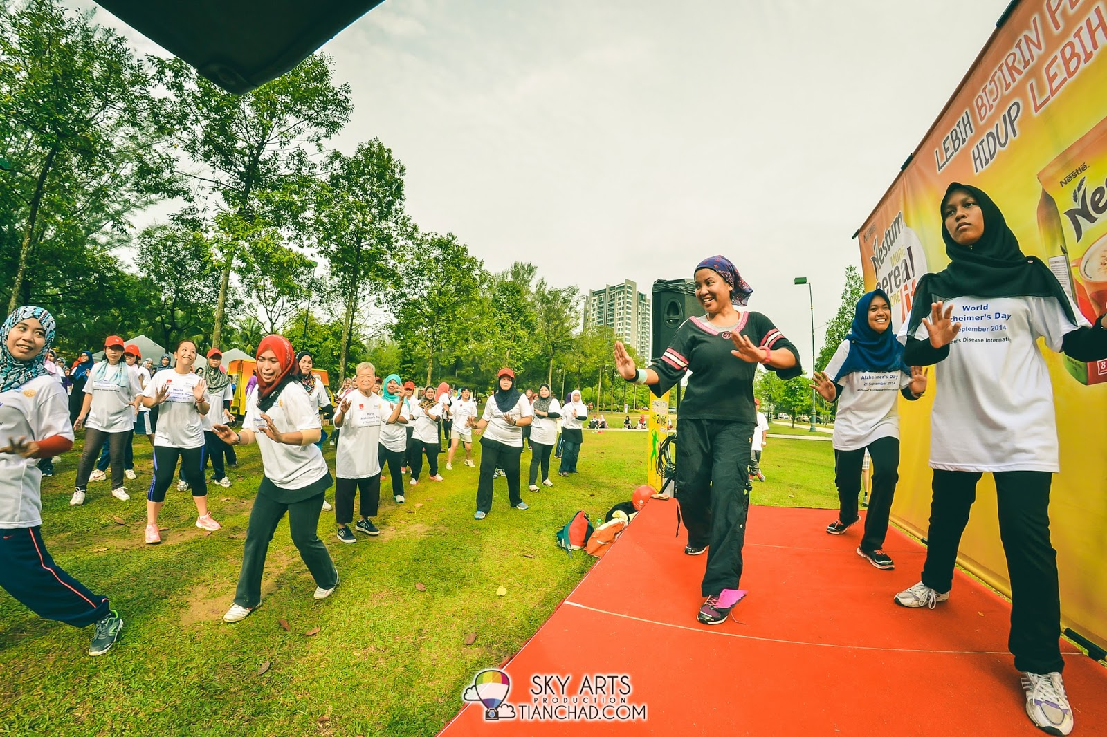 Morning Zumba @ Bukit Jalil Park